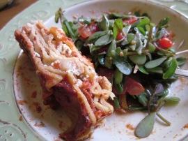 Lasagne&Purslane