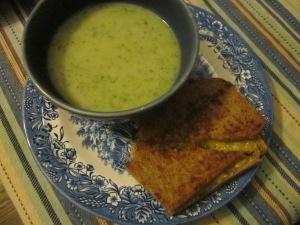 CelerySoup&Sandwich